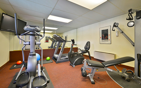 hotel gym amenities