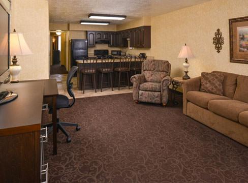 hotel living room