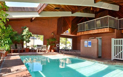 indoor hotel pool