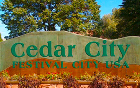 Ceday city festival sign